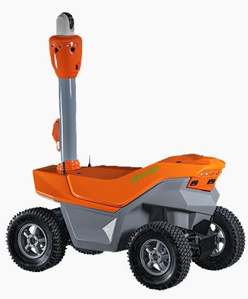 робот охранный